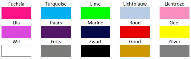 Kleuren bedrukken
