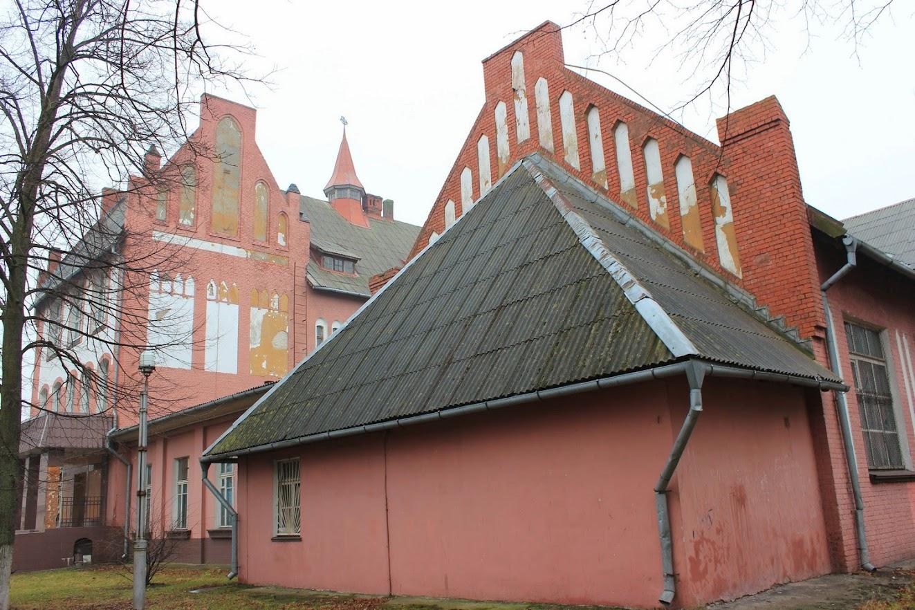 Архитектура постоянно напоминала о прусском прошлом