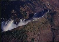 Victoria Falls desde el aire
