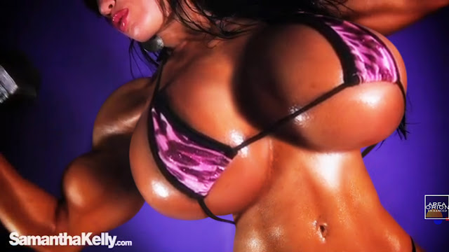 Samantha Kelly breast expansion morph