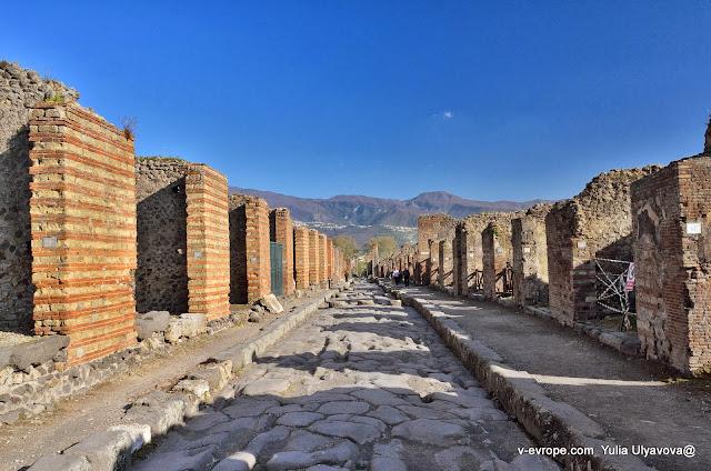 Улицы в Помпеях