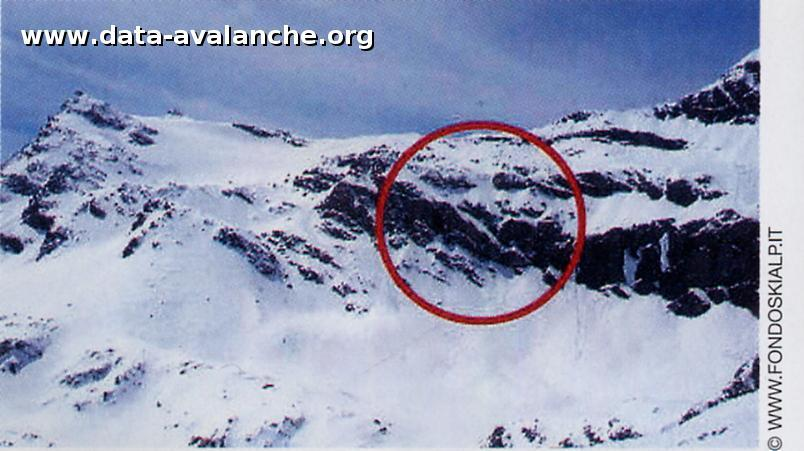 Avalanche Grand Paradis, secteur Punta Basei - Photo 1