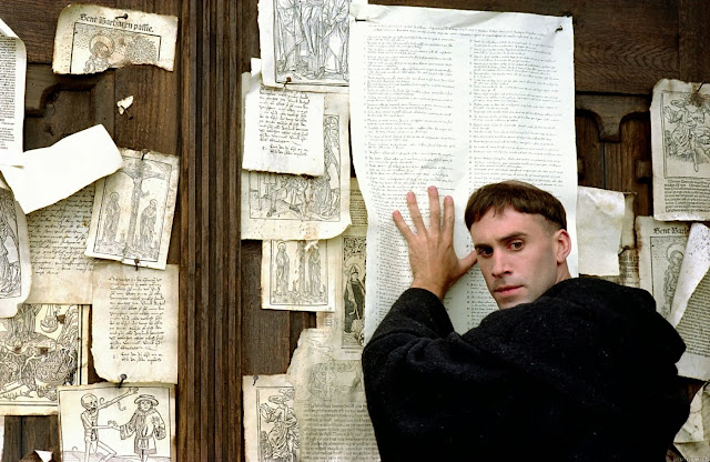 Lutero no clavó las 95 tesis