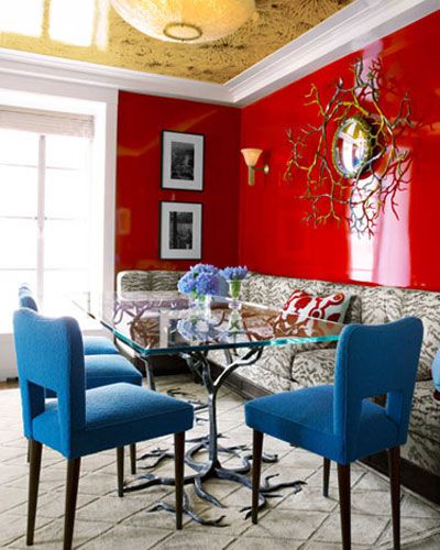 Trang trí căn nhà nhỏ với sắc màu rực rỡ đầy táo bạo