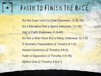 faith to finish the raceblank slide 22