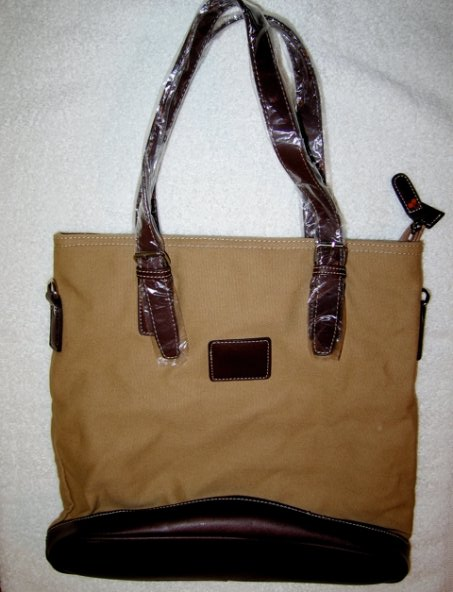 3 Lab Canvas Shoulder Bag