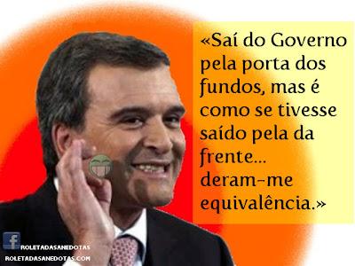 Miguel Relvas pediu equivalência para sair do Governo