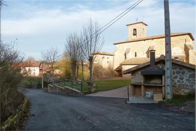 Aperregi, iglesia de San Esteban