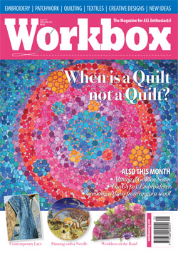 Workbox - creative embroidery magazine