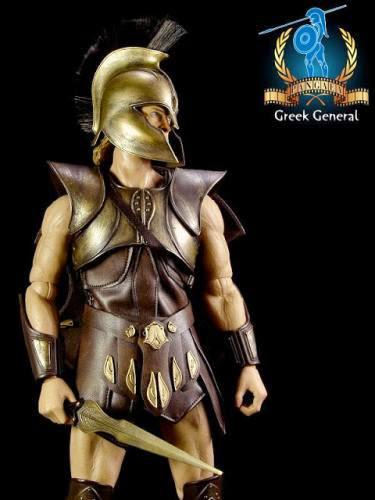Pre Order Pangaea Pg01 16 Scale Greek General 12 Inch Figure Aka Brad Pitt Achilles