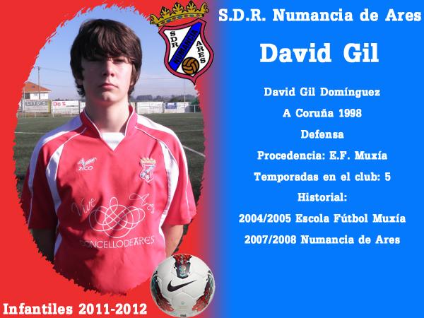 ADR Numancia de Ares. Infantís 2011-2012. DAVID GIL.