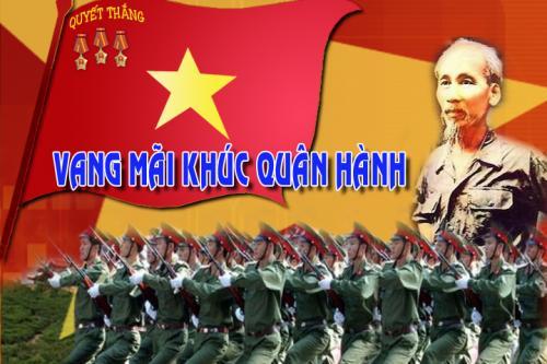Thơ mừng ngày thành lập quân đội nhân dân Việt Nam