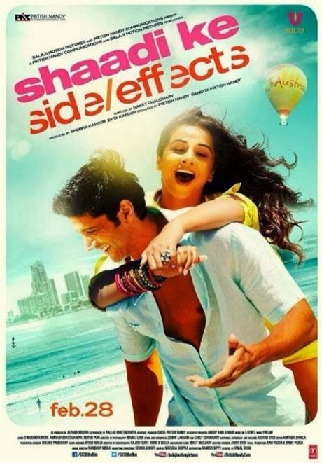 Cover of Shaadi Ke Side Effects (2014) Hindi Movie Mp3 Songs Free Download Listen Online at Alldownloads4u.Com