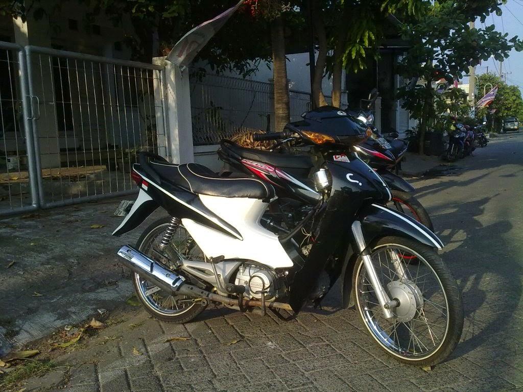 Honda Blade Modifikasi Balap
