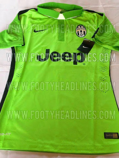 a75253791 All New Juventus 2014-15 3 Kits Leaked (Home Away 3rd)
