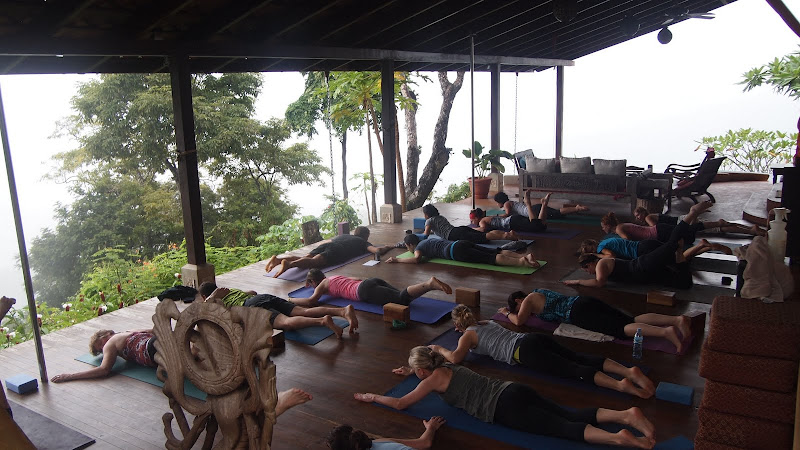 Yoga at Anamaya in Costa Rica