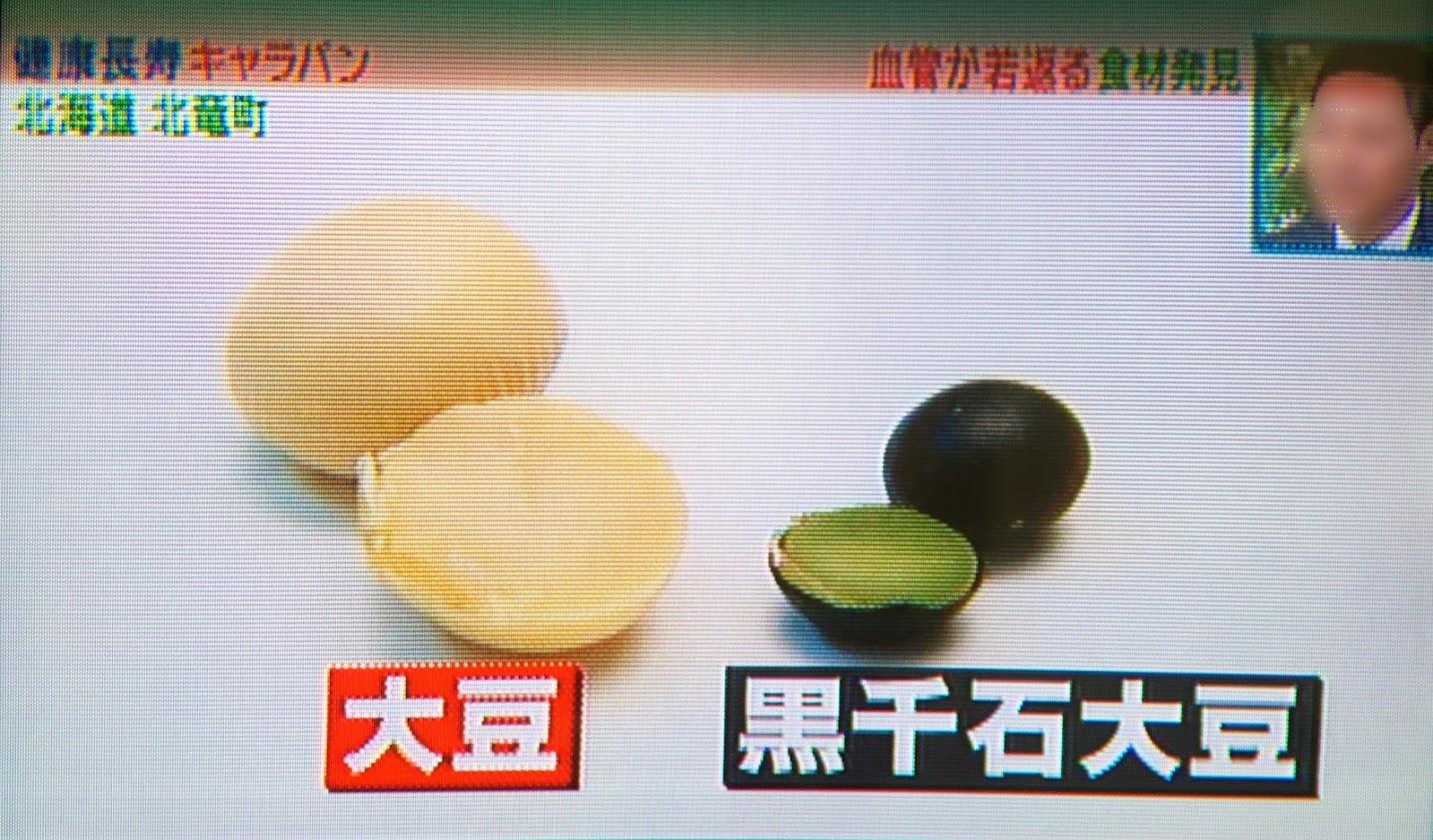 大豆と黒千石大豆