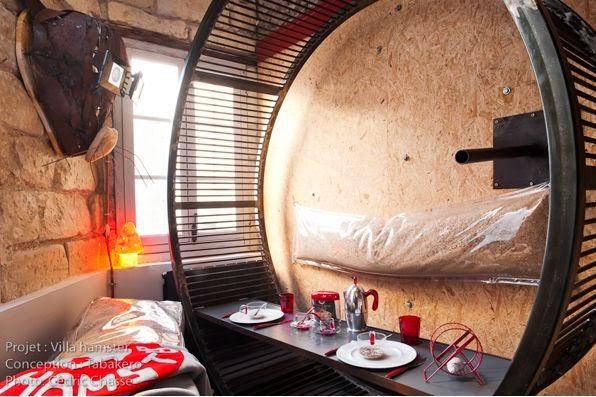 Самые лучшие отели мира, самые неординарные отели мира - La Villa Hamster, Нант, Франция, Bubble Tree, Grand Canyon Caverns Suite, Аризона, Propeller Island, Берлин, Save the Beach Hotels