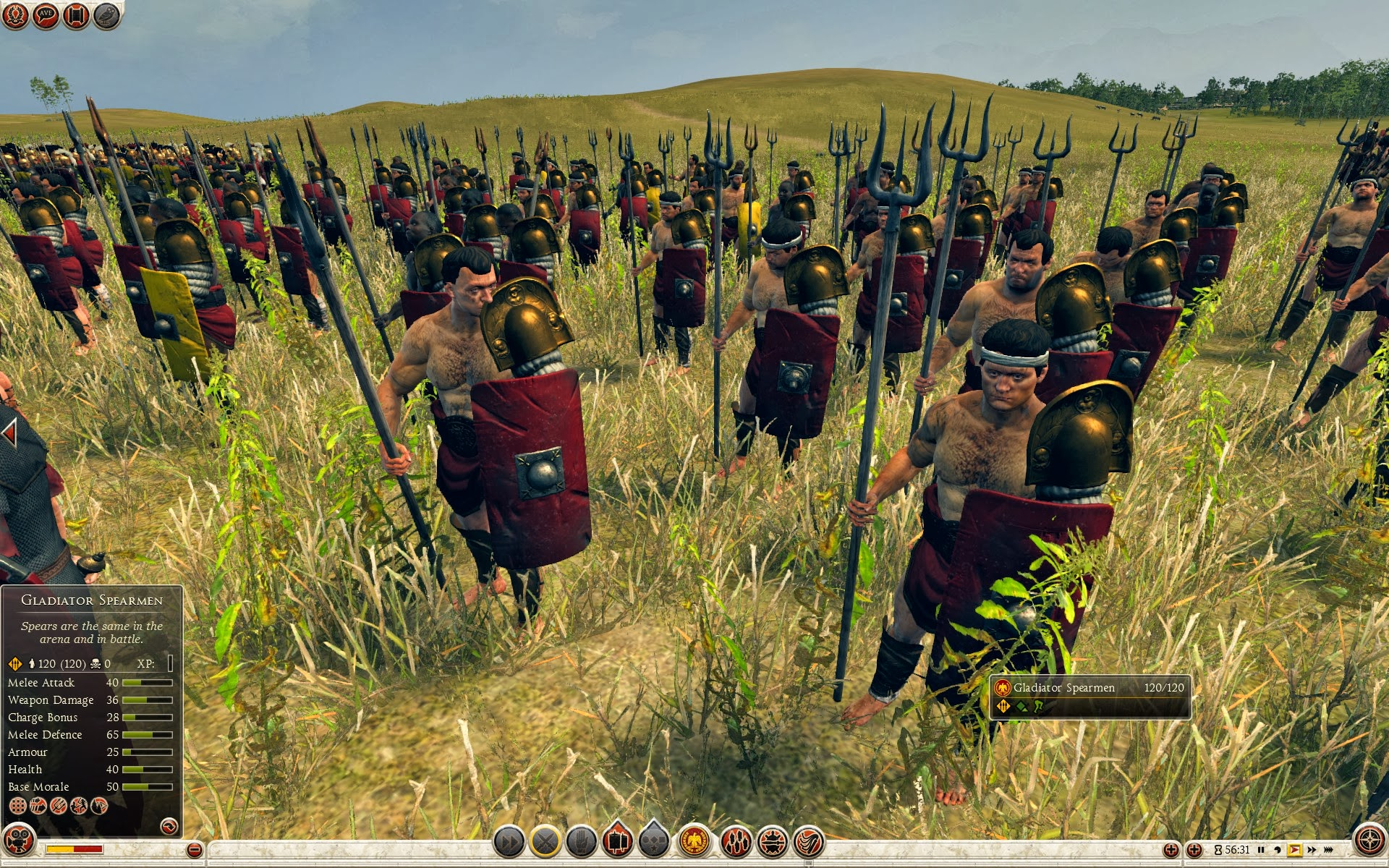 Gladiator Spearmen