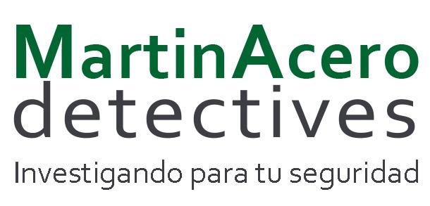 Logo Detectives Privados Martín Acero