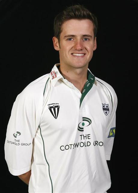 Steve Davis Cricketer. Steven Davies, not blogger