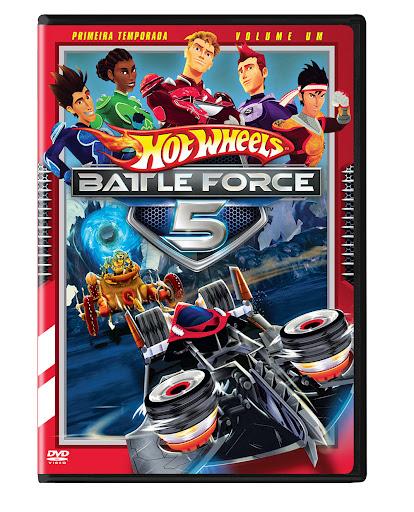 Download Hot Wheels Battle Force 5 1ª Temporada Completa DvdRip AVI Dual Audio