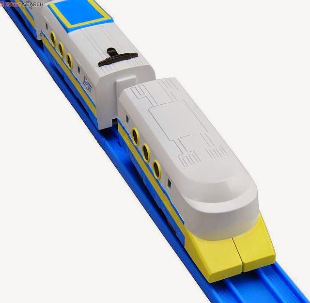 Tầu hỏa Disney Dream Railway Donald Duck Marine Shuttle màu sắc bóng bẩy tươi vui
