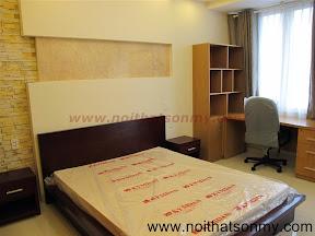 Giường hộp bằng gỗ ghép