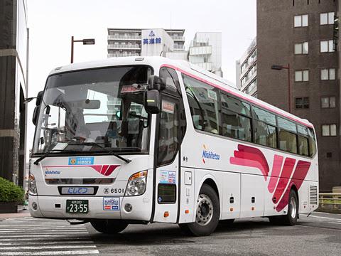 西日本鉄道「とよのくに号」 6501