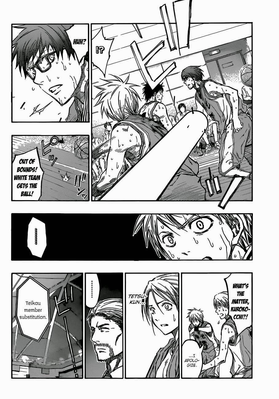 Kuroko no Basket Manga Chapter 215 - Image 16
