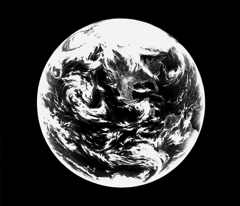 UNTITLED (EARTH, FOR ZANDER) by Robert Longo