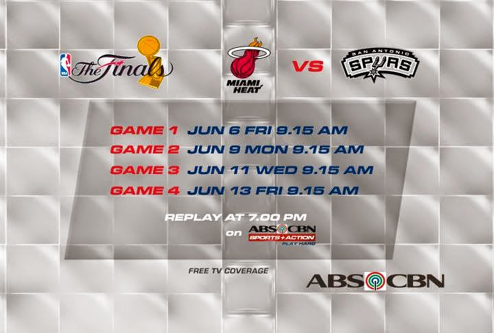 ABS-CBN Live Streams Spurs-Heat 2014 NBA Finals