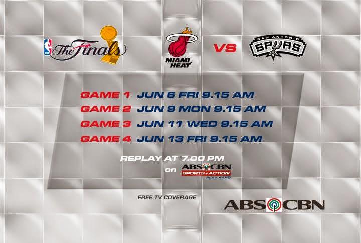 ABS-CBN Live Streams Spurs-Heat 2014 NBA Finals