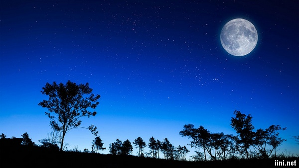 ánh trăng đêm buồn
