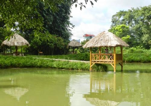 nha ngh sinh thai dau tien o moc chau1 Nhà nghỉ sinh thái đầu tiên ở Mộc Châu