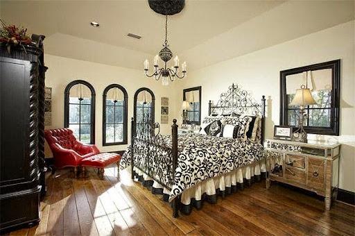 Thiết kế phòng ngủ kiểu Âu cho mùa thu đông ấm áp-8