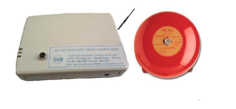 Hệ thống chuông báo giờ bằng chuông điện không dây