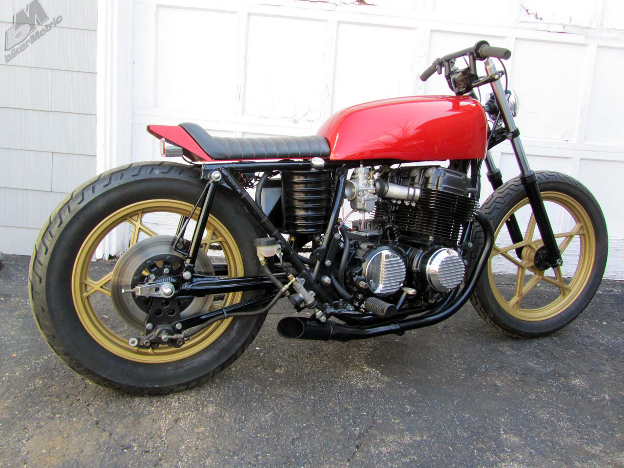 ... missouri, have what was once a 1977 honda cb750 super sport that they, um, did stuff with. it's for sale on ebay and there is six hours left.