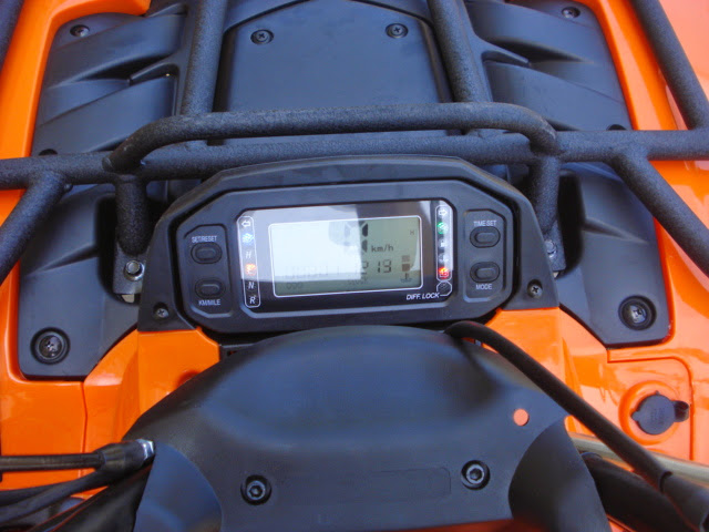 500cc 4wd Rubicon ATV Digital Dash