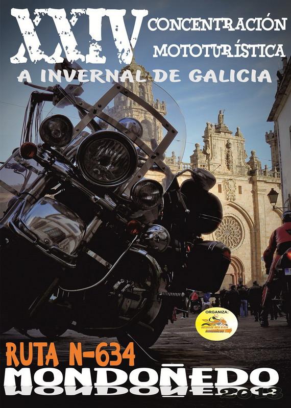 Cartel XXIV Invernal de Galicia - Mondoñedo 2013