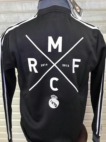 Jual Jaket Real Madrid FC Hitam 2014-2015 Grade Ori