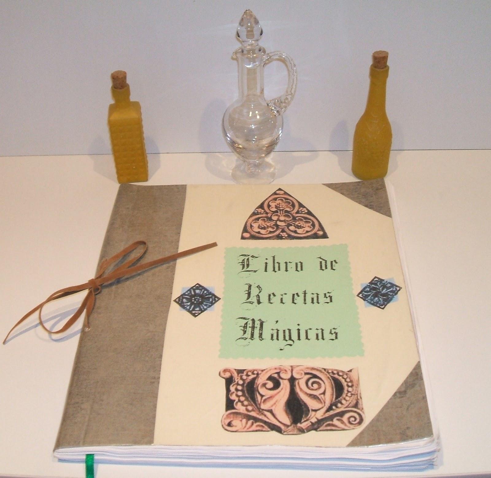 LAPICERO MÁGICO: Libro de Recetas Mágicas