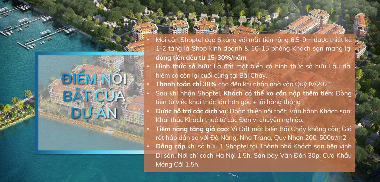 Điểm nổi bật của Aqua City Hạ Long