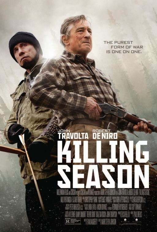 Poster Of English Movie Killing Season (2013) Free Download Full New Hollywood Movie Watch Online At Alldownloads4u.Com