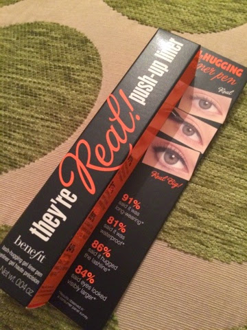 Benefit They're Real! Push-up Liner Review