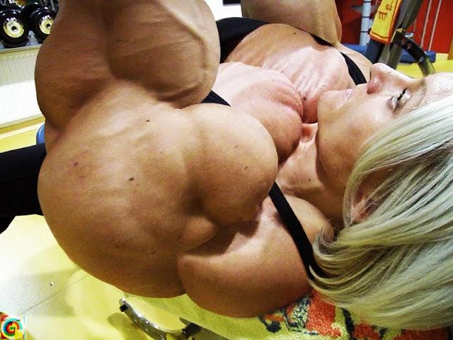 Brigita Brezovac muscle morph