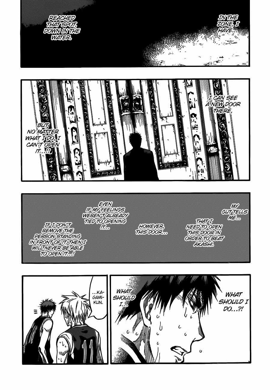 Kuroko no Basket Manga Chapter 262 - Image 15