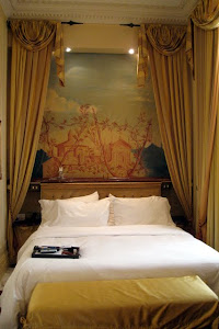 Room at the St Regis Hotel in Rome