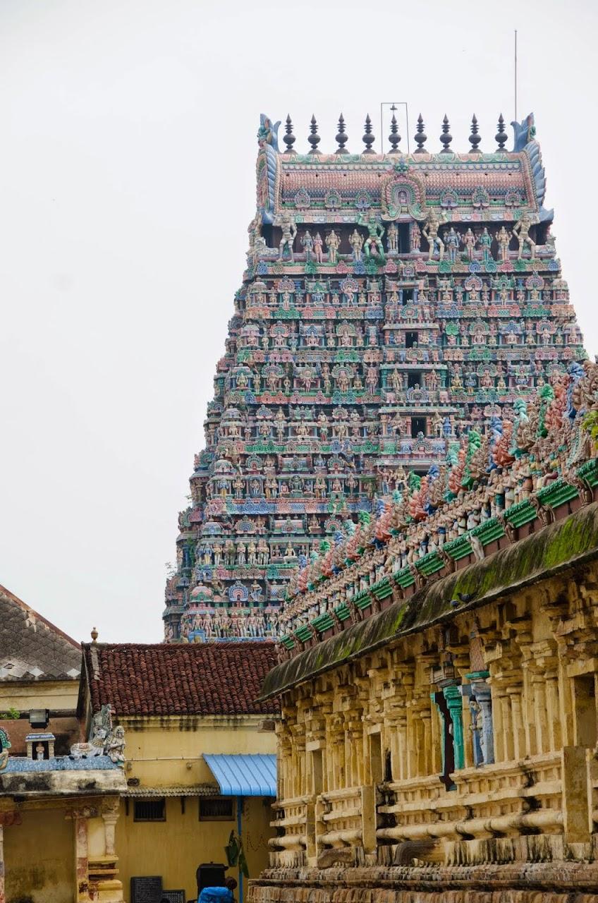 Gopuram in Kumbakonam