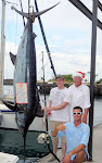 524 Pound Pacific Blue Marlin caught December 20, 2011 by Riley Wight from Heppner, OR.  Sadly, the Marlin was tail wrapped and could not be revived.